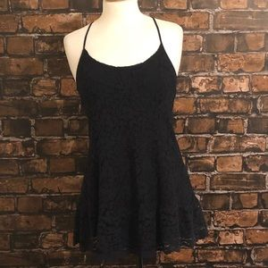 Abercrombie & Fitch Lace Backless Dress S